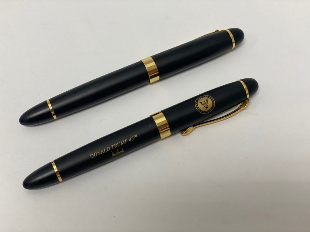 Donald Trump Black & Gold Executive Pens