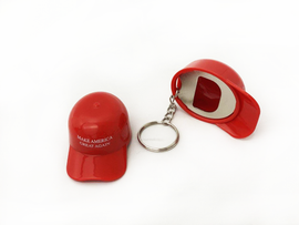 Trump Make America Great Again Hat Bottle Openers With Metal Keyring