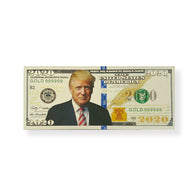 Donald Trump 2020 Silver Commemorative Banknote Magnet