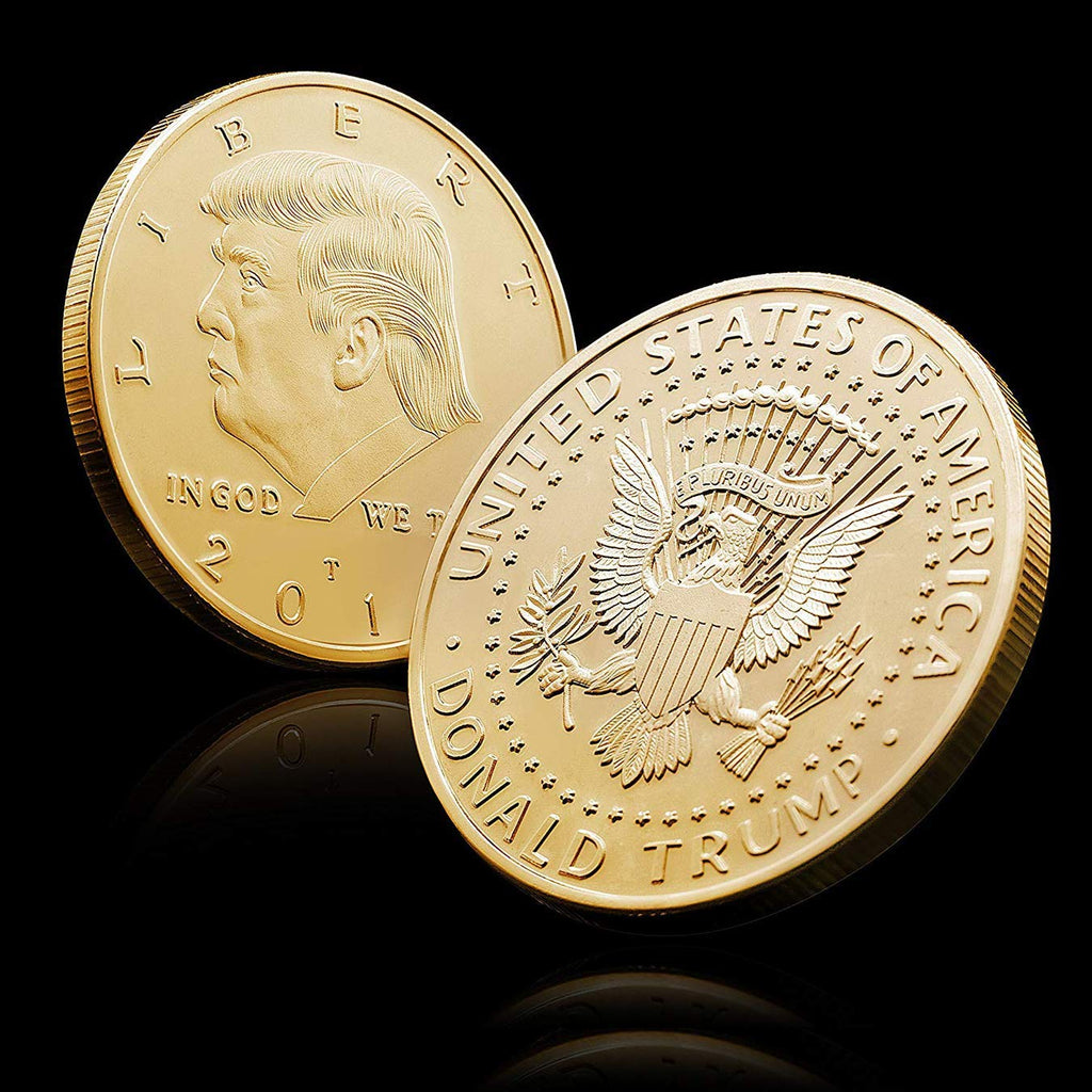 Donald Trump American Eagle Commemorative Coin *FREE WITH PURCHASE*