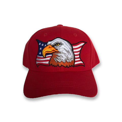 American Eagle Red Hat