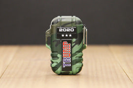 Trump 2020 Camo Rechargeable & Waterproof Outdoor ARC Lighter