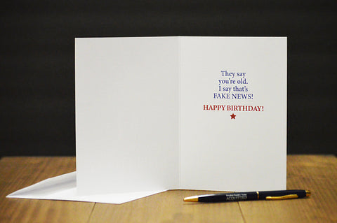 Let's Make Your BIRTHDAY Great Again' Birthday Card
