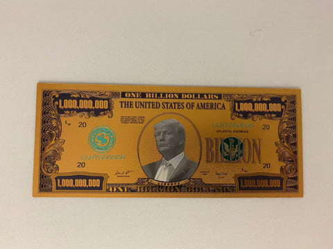 Donald Trump $1 Billion Gold Bill