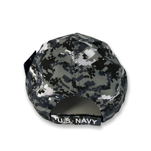 Official United States Navy Digital Camo Cap