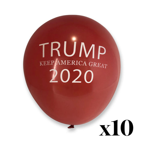 Trump Keep America Great 2020 Balloon 10 Pack