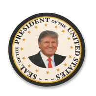 Donald Trump Presidential Portrait Sticker