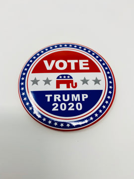 Vote For Trump 2020 Button-Pins