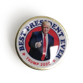 Best President Ever Trump 2020 Pin