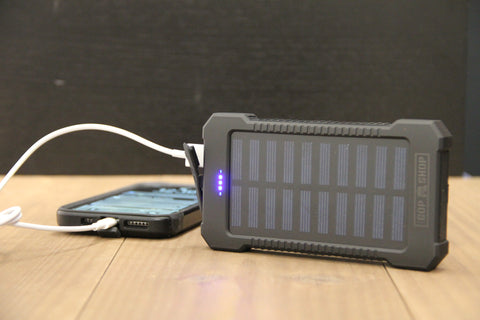 High Capacity Solar Power Bank