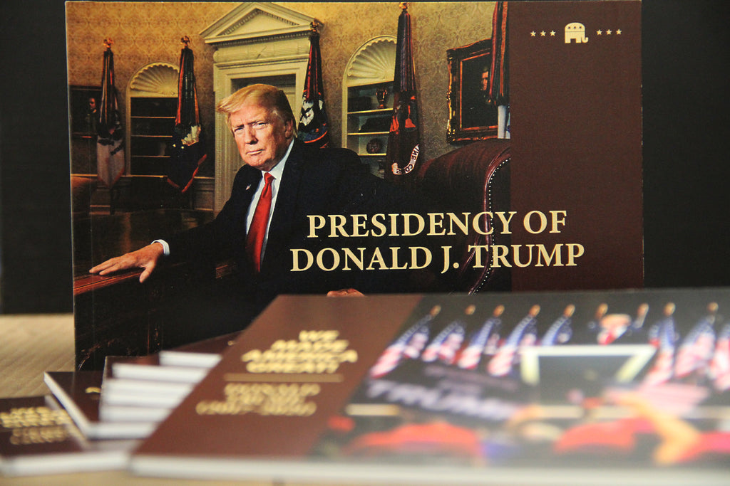 LIMITED EDITION: Presidency of Donald J. Trump Booklet