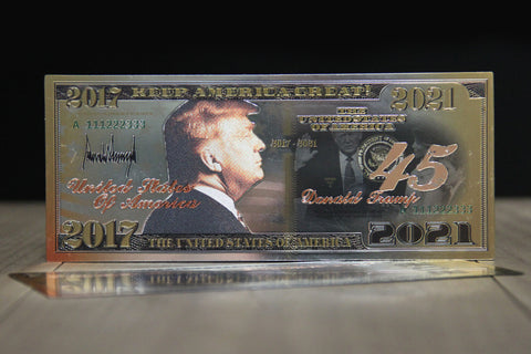 2017-2021 President Donald J. Trump Commemorative Bank Note