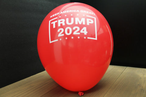 10-PACK 'Keep America Great! Trump 2024' Balloons