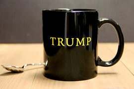 Black Gloss Finish 'TRUMP' Mug