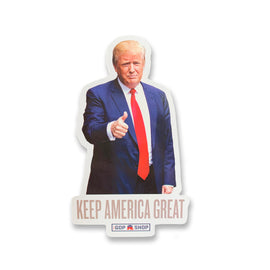 "Donald Trump ""Keep America Great"" Magnet"