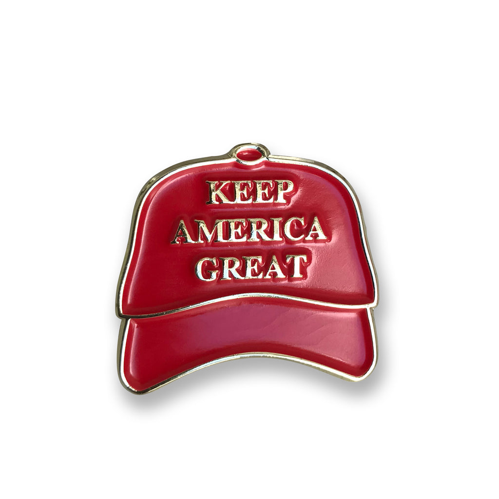 "Donald Trump ""Keep America Great"" Hat Pin"