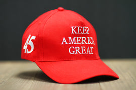 Keep America Great! Embroidered 45th Presidential Cap