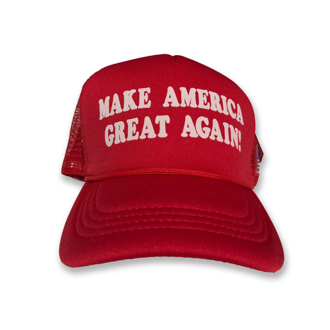 Make America Great Again Red Trucker Hat