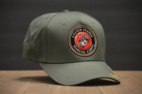 Official U.S. Marine Corps Dark Green Hat