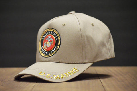 Official U.S. Marine Corps Tan Hat