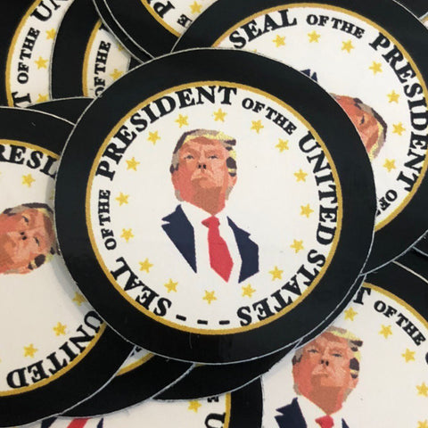 Presidential Mosaic Seal Sticker