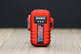 Trump 2020 Red Rechargeable & Waterproof Outdoor Lighter