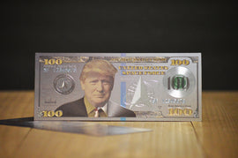 Donald Trump Silver $100 Space Force Bill