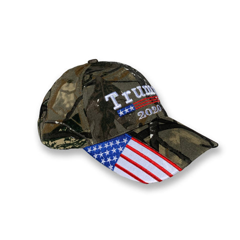 Hunting Camo Trump For 2020 Cap