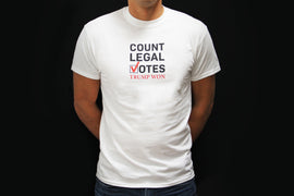 'Count Legal Votes' White T-Shirt