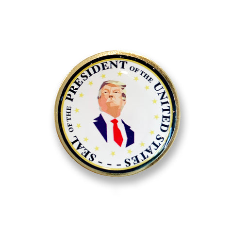 Donald Trump Mosaic Presidential Pin *BLACK FRIDAY SALE*