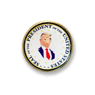 Donald Trump Mosaic Presidential Pin