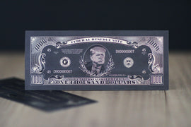 Black Trump $1000 Bill