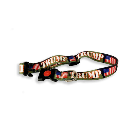 CAMO Trump Dog Collars