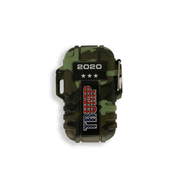 Trump 2020 Camo Rechargeable & Waterproof Outdoor Lighter