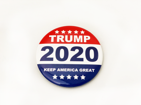 Trump 2020 Button Pins
