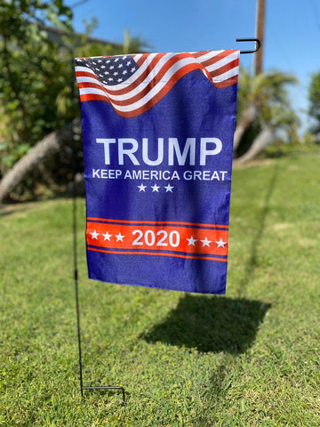 Trump 2020 Lawn Flag  (FLAG POLE NOT INCLUDED)