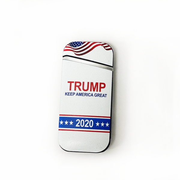 Trump 2020 Windproof Electric Rechargeable  Lighter