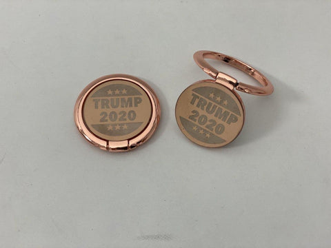 Trump 2020 ROSE GOLD Phone Ring Holder