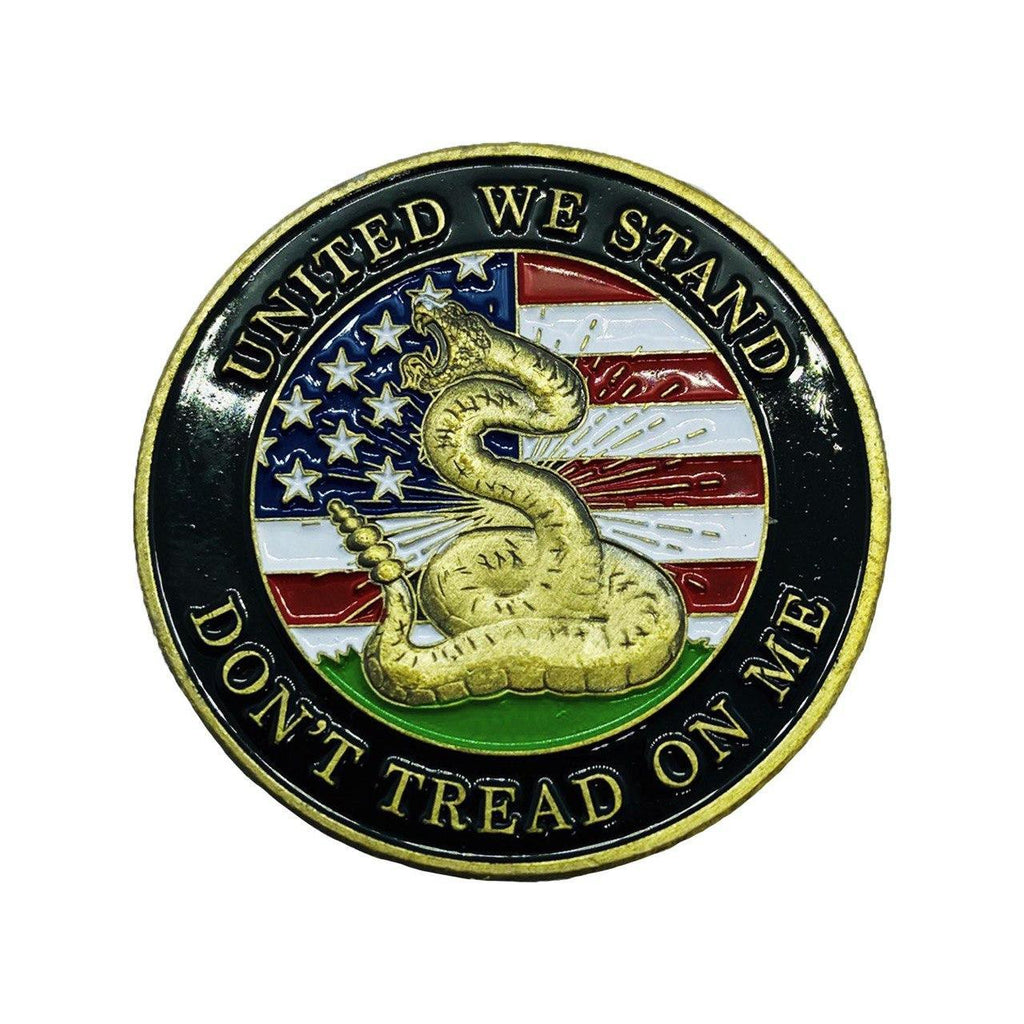 Don't Tread on Me Challenge Coin