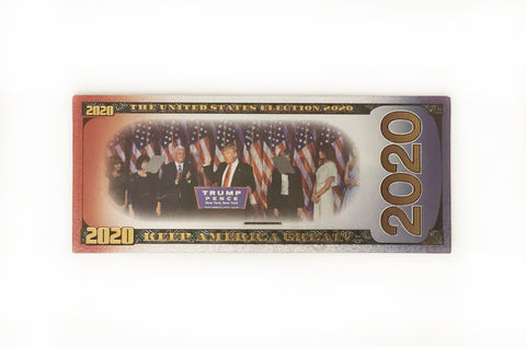 Trump - Pence Commemorative 2020 Bank Note