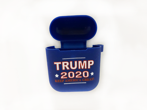 Trump 2020 Keep America Great Navy Blue AirPod Case