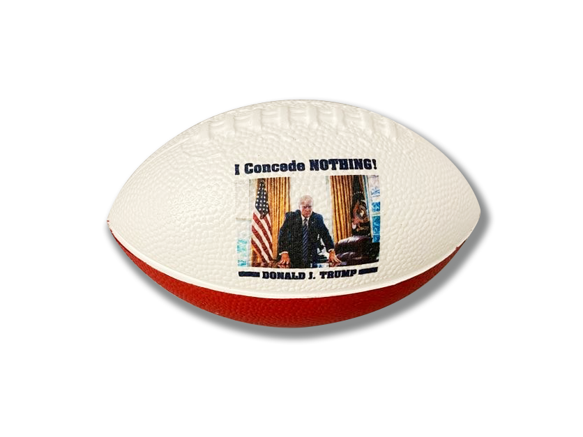 "'I Concede Nothing' Mini 6"" Trump Football"
