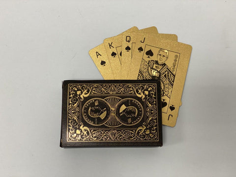 Donald Trump Black & Gold Collectible Playing Card Set