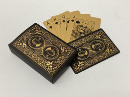 Donald Trump Black & Gold Poker Deck