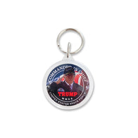 "Donald Trump ""Commander In Chief"" Space Force Keychain"