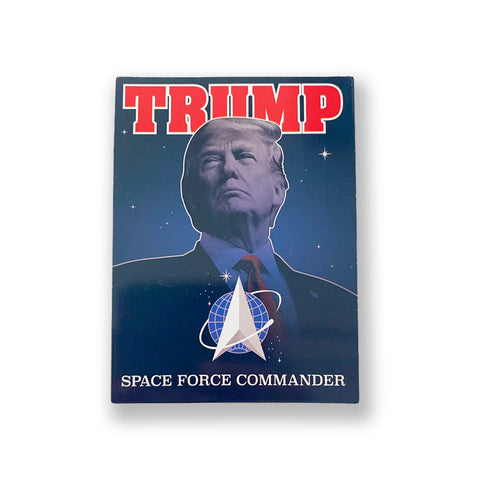 Trump Space Force Commander Magnet