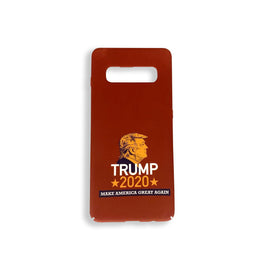 Trump 2020 Make America Great Again Galaxy S10 PLUS RED Phone Case