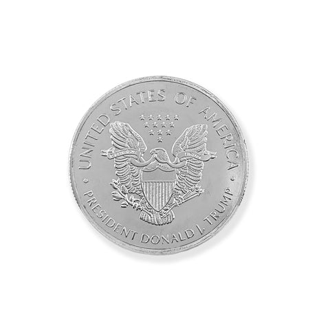"Trump 2020 ""Keep USA Great"" Silver Plated Coin"