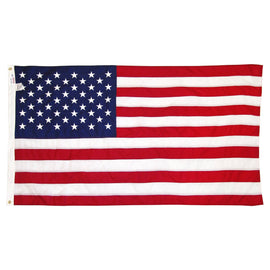 USA Flag Deluxe Embroidered Stars 3' X 5'