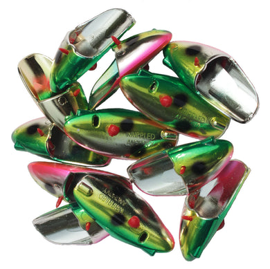 Krippled Anchovy Unrigged 12-pack, #300-Watermelon on Krome